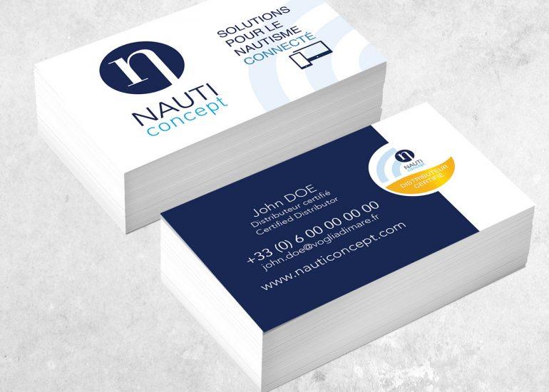 SCom Multimédia - Création de cartes de visite - Print