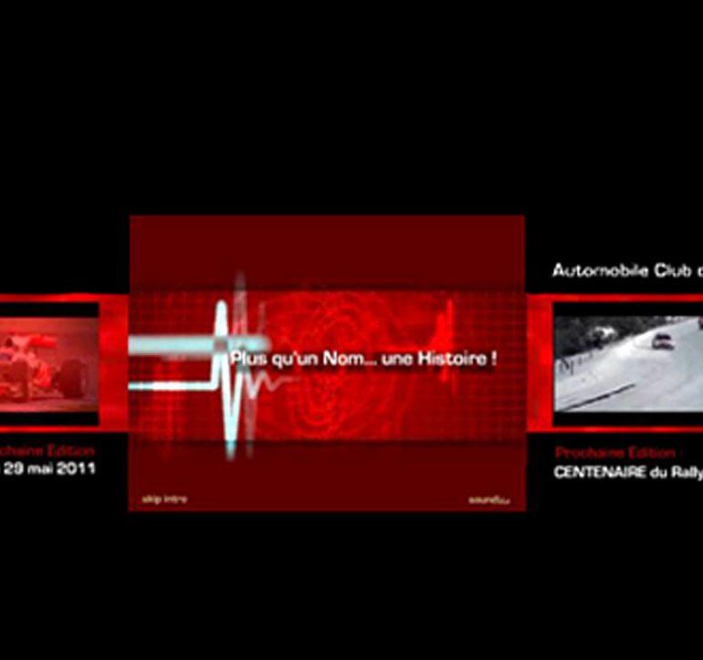Projet de webdesign - Automobile Club de Monaco