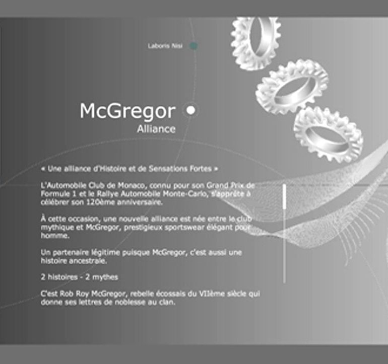 Projet de webdesign - Automobile Club de Monaco