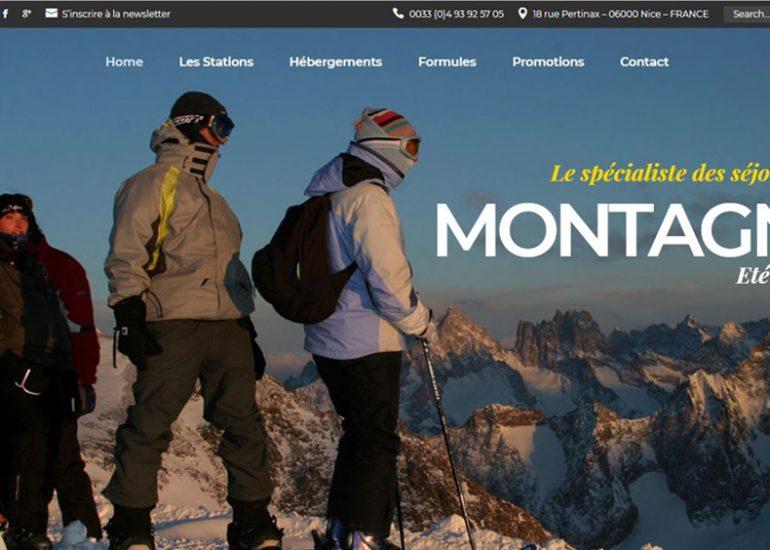 SCom Multimédia - Création de sites internet - Côté Vacances