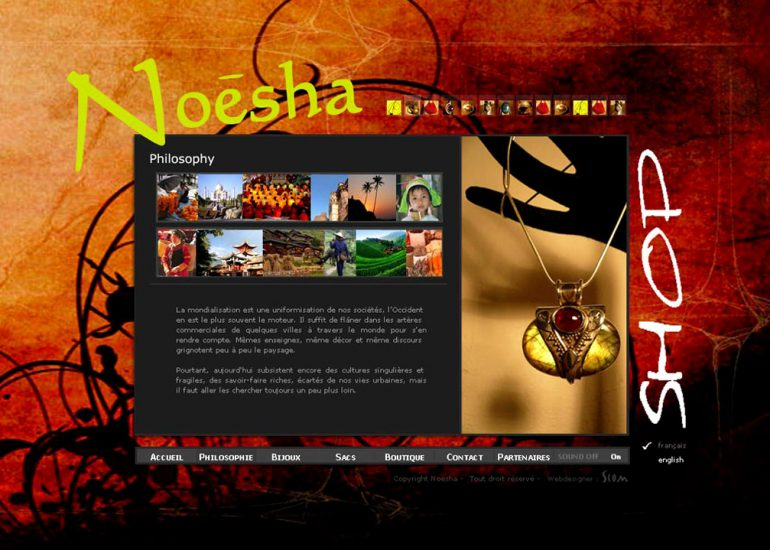 Création site internet Côte d'Azur Nice - Noesha