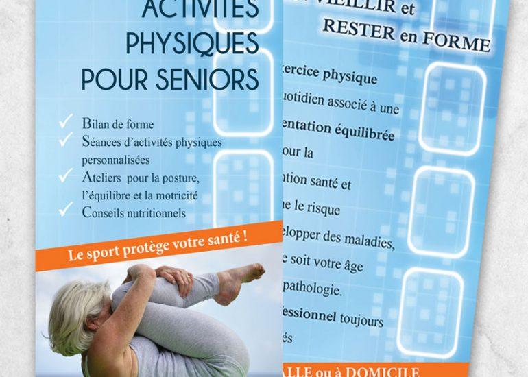 Réalisation de flyers - Scom multimedia - Agence de communication print et web - Nice - Paca