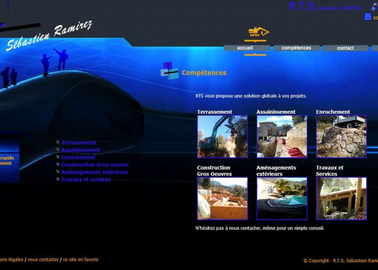 Création de site internet - Nice Côte d'Azur