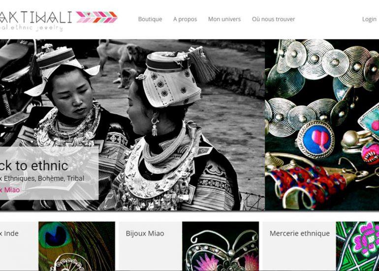 Création de site internet Nice - Shaktiwali