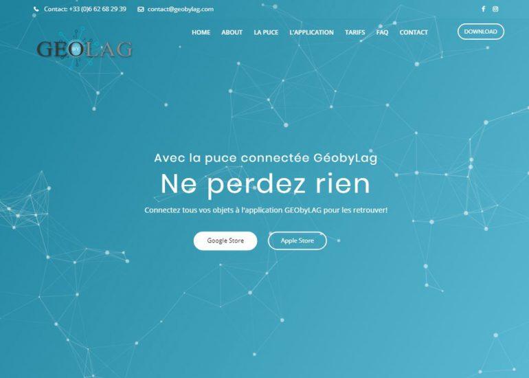 Site Projet Etudes GEObyLAG- Création de site internet