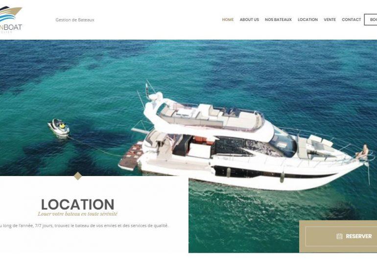 Création de sites internet - PassionBoat Mandelieu