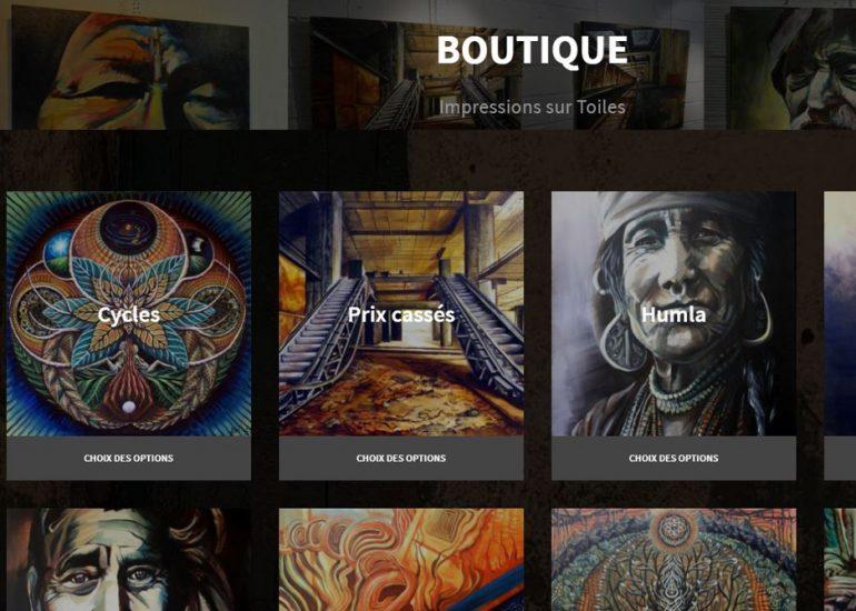 Création de site internet + Boutique en ligne alpes-maritimes